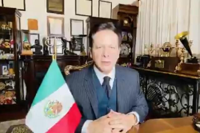 Mexicano Daniel Aceves declina portar antorcha olímpica de Tokio