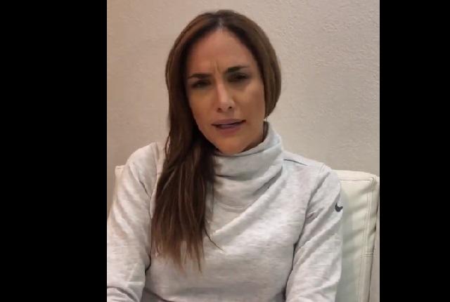 Danielle Dithurbide así respondió a mensaje misógino