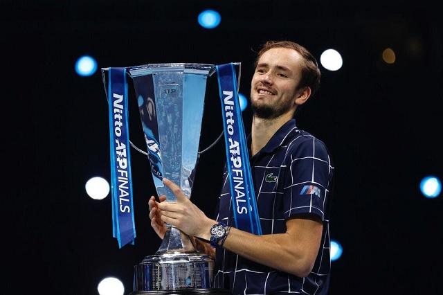 Daniil Medvedev se consagra nuevo campeón de las Finales ATP
