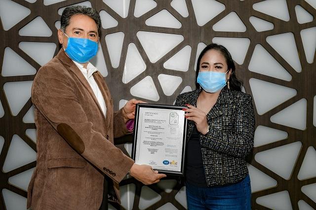 Registro Civil de Cuautlancingo obtiene Certificación ISO 9001