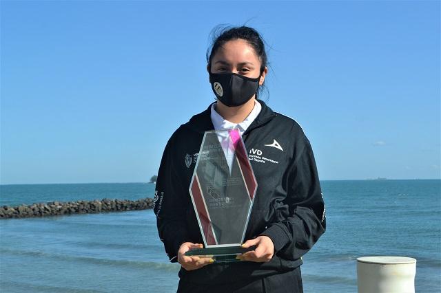 Mexicana Danna Cortés va por boleto a Tokio en Circuito Mundial de 'Volei'
