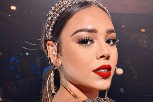 Danna Paola conquista en redes con sensual video ensayando Sodio