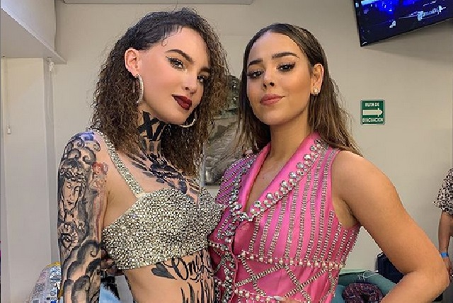 ¿Dónde se tomaron foto viral Danna Paola y Belinda?