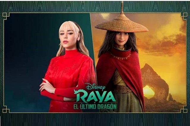 Danna Paola cantará y dará voz a personaje en Raya y el último Dragón de Disney