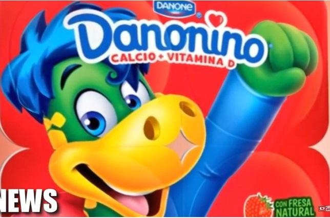 Danonino sabor fresa, un riesgo para la salud de los niños, advierten