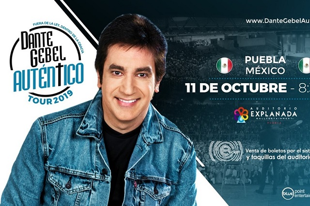 Dante Gebel viene a Puebla y esto cuestan los boletos