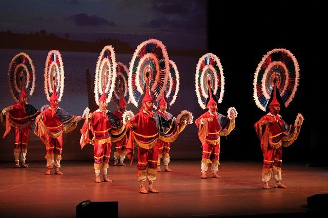 Ballet Folklórico Buap CCU recrea la fundación de Puebla