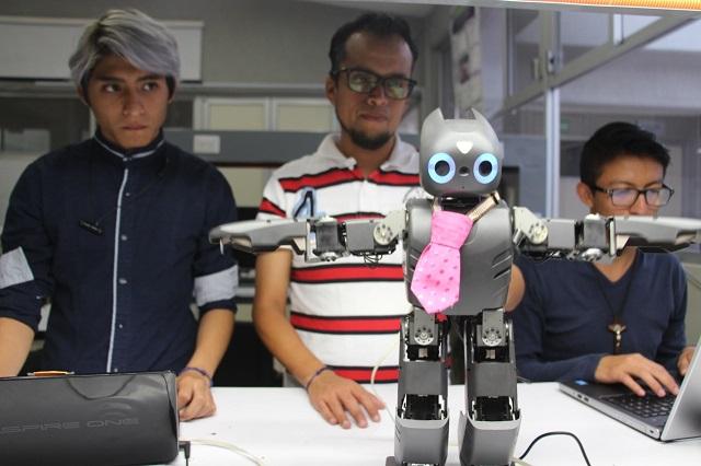 UPP presenta robot capaz de identificar conductas suicidas