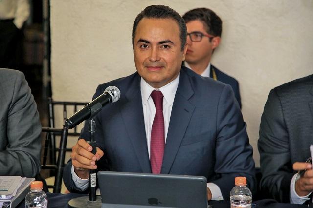 Presenta David Villanueva resultados como coordinador nacional de auditores del país