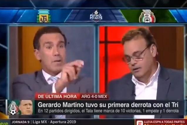 David Faitelson y Paco Gabriel de Anda ponen caliente ESPN