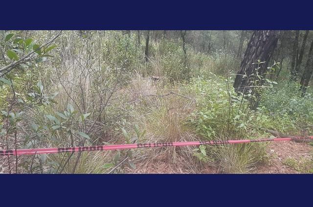 Hallan cadáver maniatado cerca de San Rita Tlahuapan