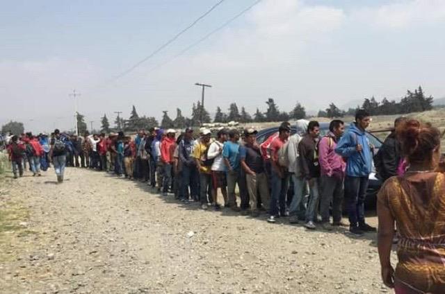 Iban en un tráiler 48 migrantes; los rescatan en zona de Acajete