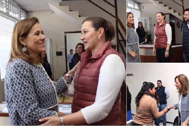 Dirigencia estatal del PAN recibe a Margarita Zavala