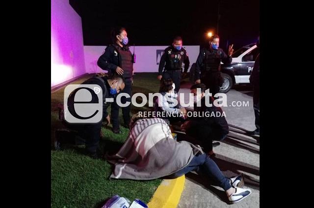 Apuñalan a chofer de Cabify durante asalto en Cuautlancingo