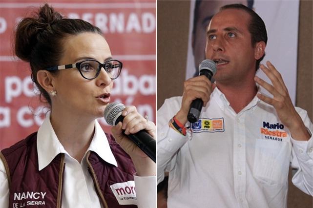 Con Mario Marín de pretexto, cruzan acusaciones Riestra y de La Sierra