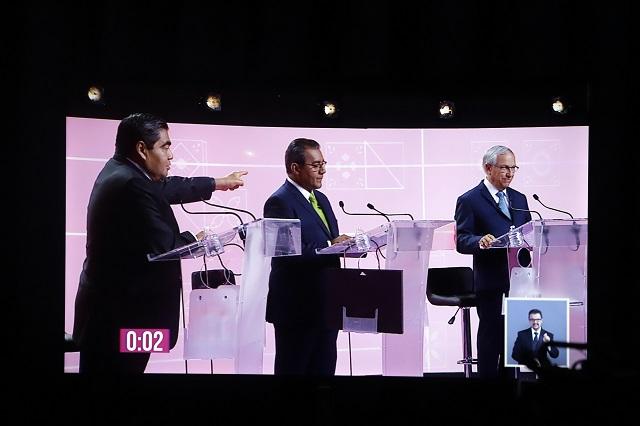 Candidatos vuelven ring el único debate por gubernatura de Puebla