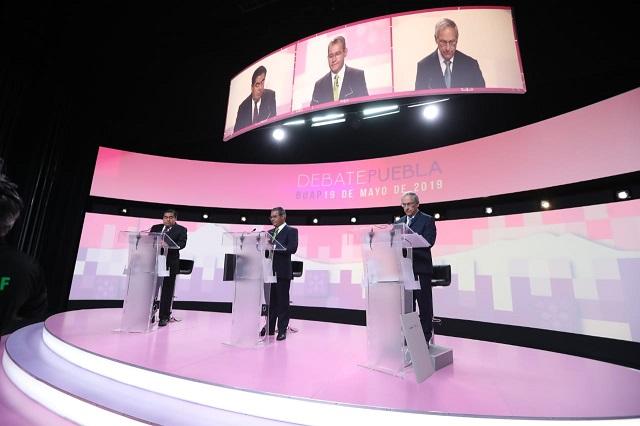 Gastó INE 8.5 mdp en el debate más caro realizado en Puebla