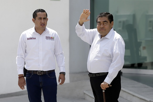 Si gano la gubernatura no es por el efecto Amlo, afirma Barbosa