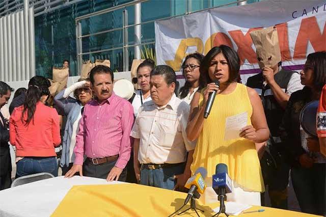 Roxana Luna invita a los poblanos a que confíen y vean el debate del IEE
