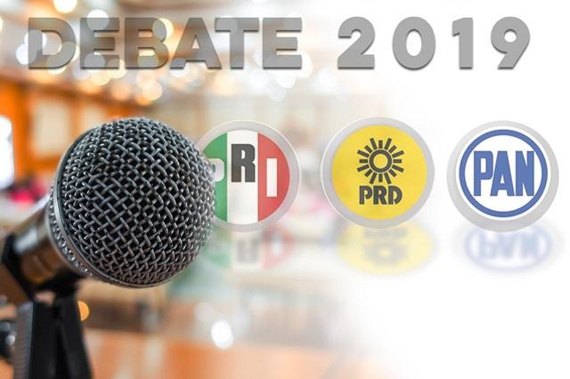 Será el 19 de mayo único debate por la gubernatura de Puebla