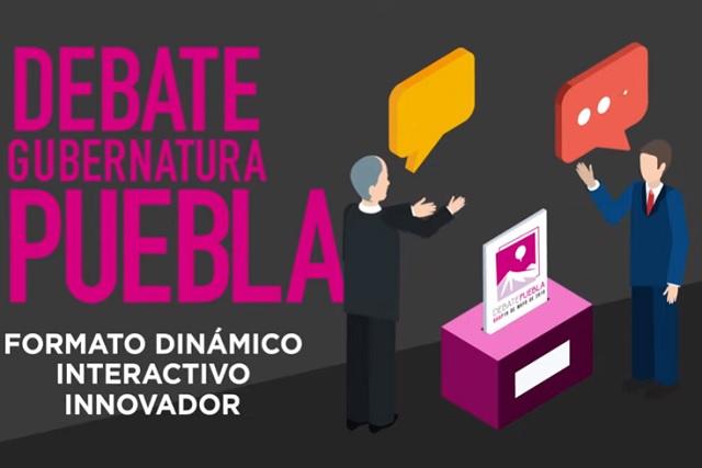 Reglas, tiempos y temas del debate entre los candidatos a la gubernatura