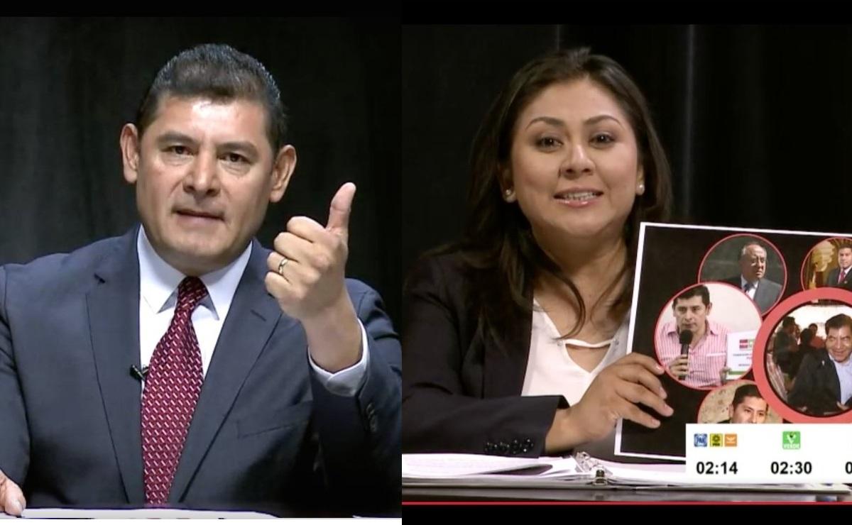 Debaten Navarro y Armenta de tú a tú por feminicidios en Puebla