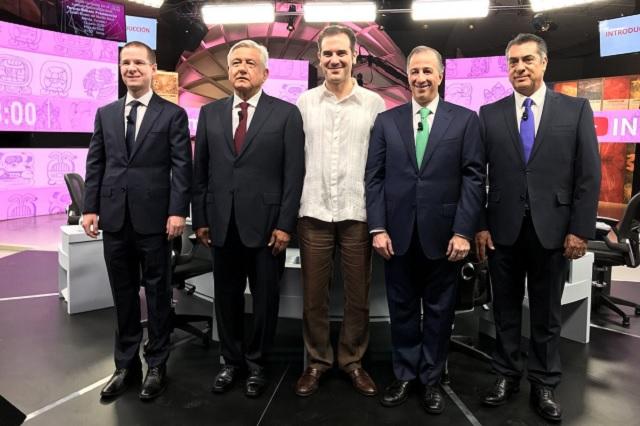 Pleito de Amlo y Anaya por pacto con EPN marca el tercer debate