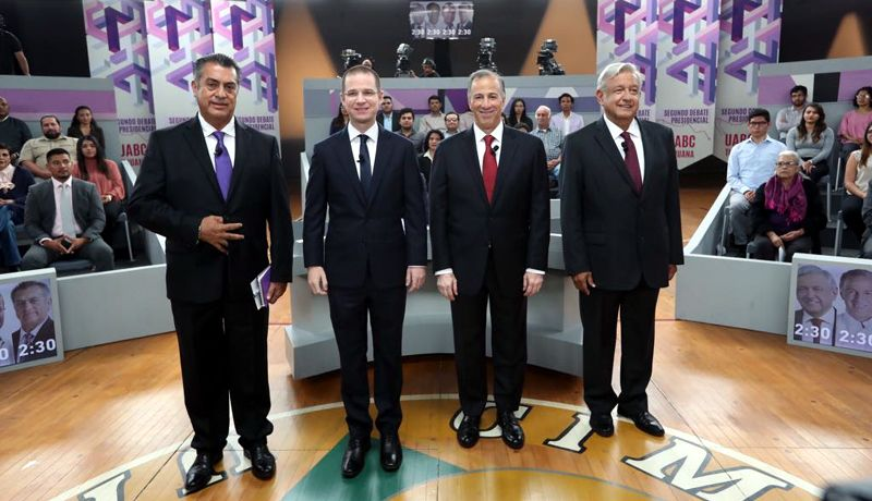 Ricardo Anaya abrirá y cerrará el tercer debate presidencial