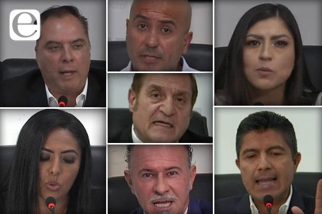 Acaparan Claudia y Eduardo Rivera los ataques del debate