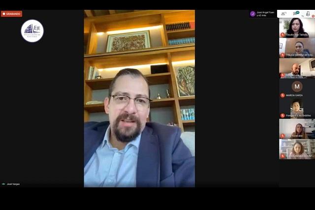Crisis por COVID-19 perfila transición a voto electrónico: José Luis Vargas