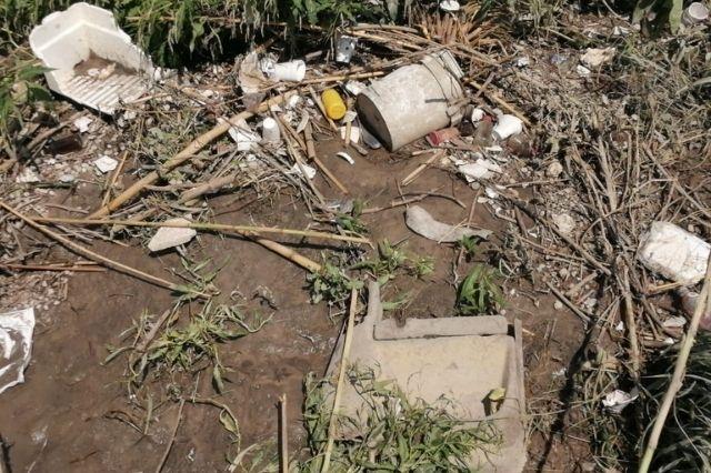 Recuentan los daños por desborde del dren de Valsequillo