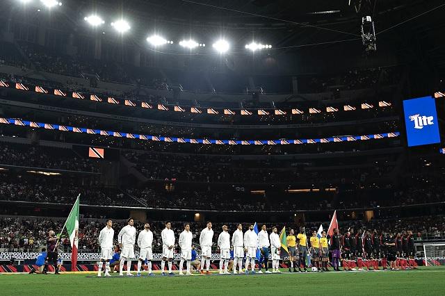 Triste y sombrío debut para México en Copa Oro