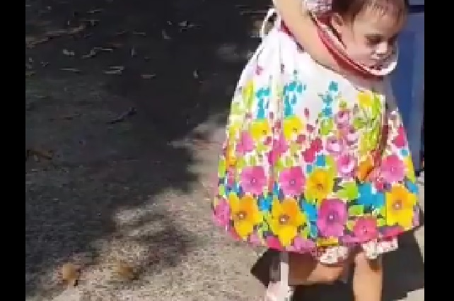 El mejor disfraz del mundo en Halloween lo tiene esta niña