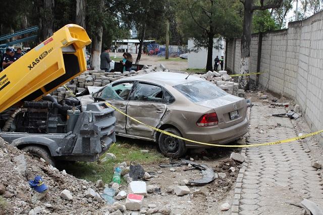 Logra acuerdo chofer que arrolló a empleado de Agua de Puebla