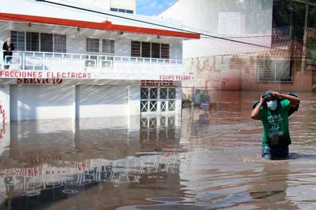 Por lluvias declaran emergencia en 9 municipios de Hidalgo