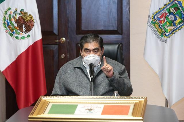 Un grupo reducido no puede presionar al Congreso: Barbosa