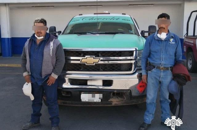 Detienen a 2 huachigaseros y a 3 narcomenudistas