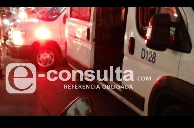 Choque de unidad del DIF deja diez lesionados en la Atlixcáyotl