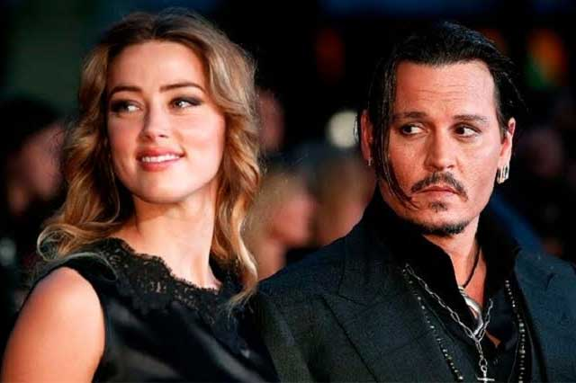 Difunden video de discusión entre Johnny Depp y Amber Heard
