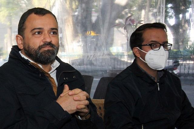 Acusa Sánchez Galindo a Agua de Puebla de evadir saneamiento