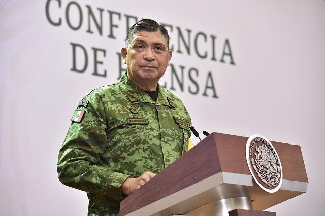 Da positivo a Covid el titular de Sedena, Luis Cresencio Sandoval