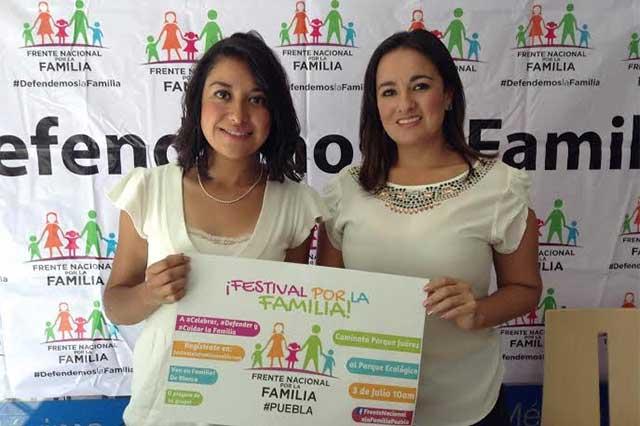 Marcharán en Puebla contra uniones gay planteadas por EPN