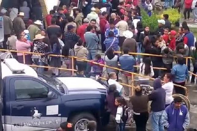 Casi linchan a defraudadores en Domingo Arenas