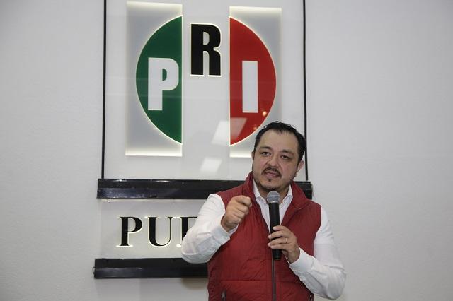 PRI convoca a formar frente amplio de partidos en Puebla