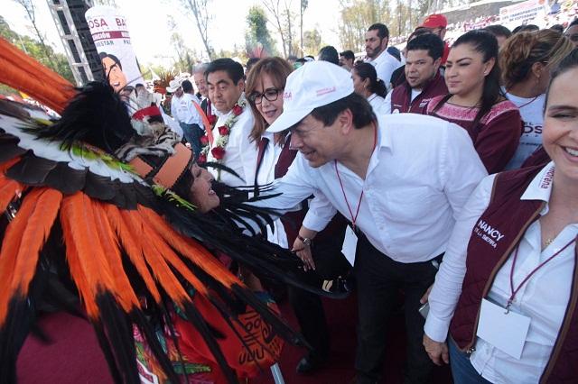 En Puebla ya ganamos pero no hay que confiarnos: Delgado