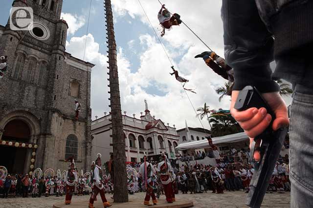 Rebasa delincuencia a autoridades de Cuetzalan