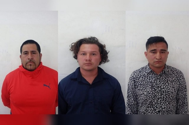 Detienen a banda de asaltantes de turistas en San Pedro Cholula