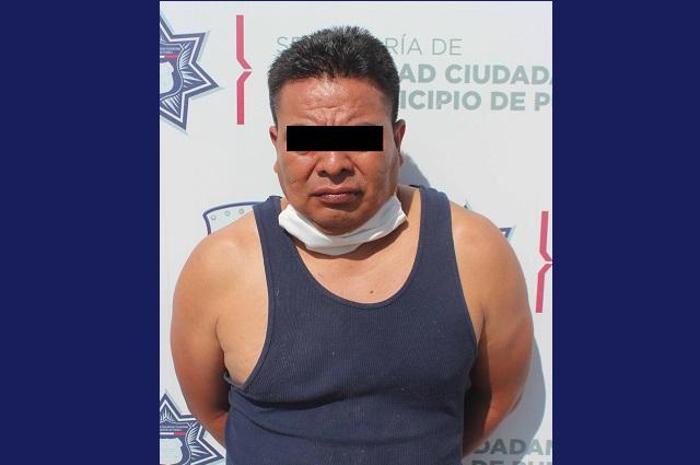 Lo detienen por violar a una adolescente en Puebla