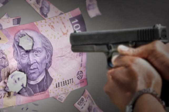 Delitos pegan a 65% de los empresarios afiliados a de Coparmex
