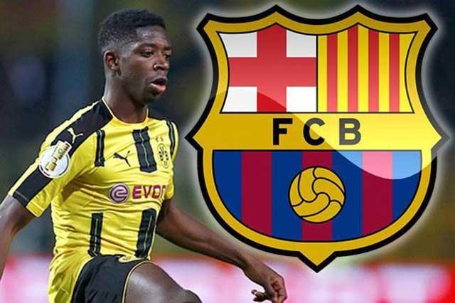 Oficial: Dembelé es nuevo jugador del Barcelona